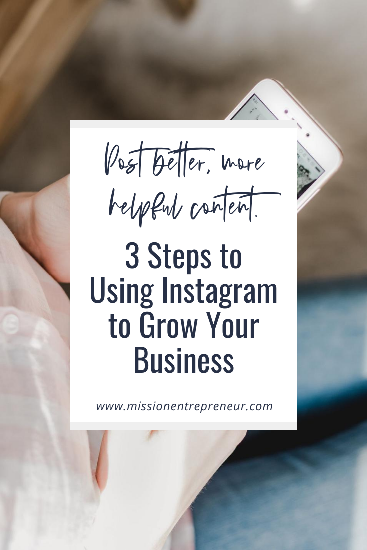 3 Steps to Using Instagram